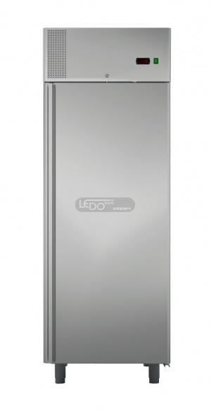 Zvětšit Chladicí skříň nerezová BASIC C700 INOX, ventilátorová