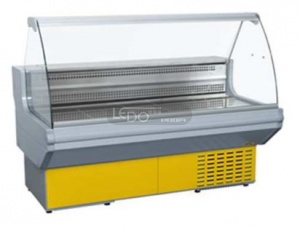Zvětšit obslužná chladicí vitrína L 1500 GZ statická