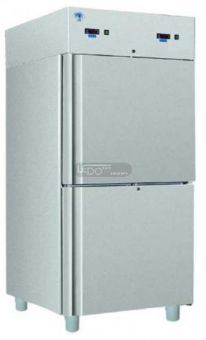 Zvětšit chladicí skříň nerezová  S 711 S 2D INOX na GN, ventilátorová