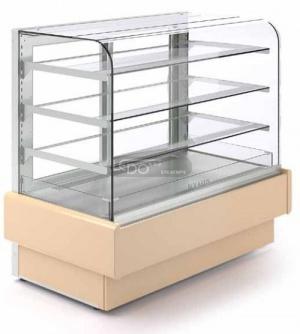 Zvětšit Cukrářská chladicí vitrína bez agregátu VERTIKA RETRO N 600