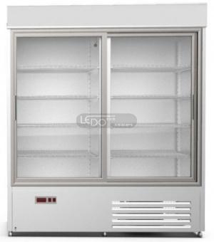 Zvětšit WESTA 1400, jednostranně prosklená chladicí skříň