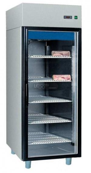 Zvětšit WS 711 S INOX prosklená chladicí skříň nerezová, na GN